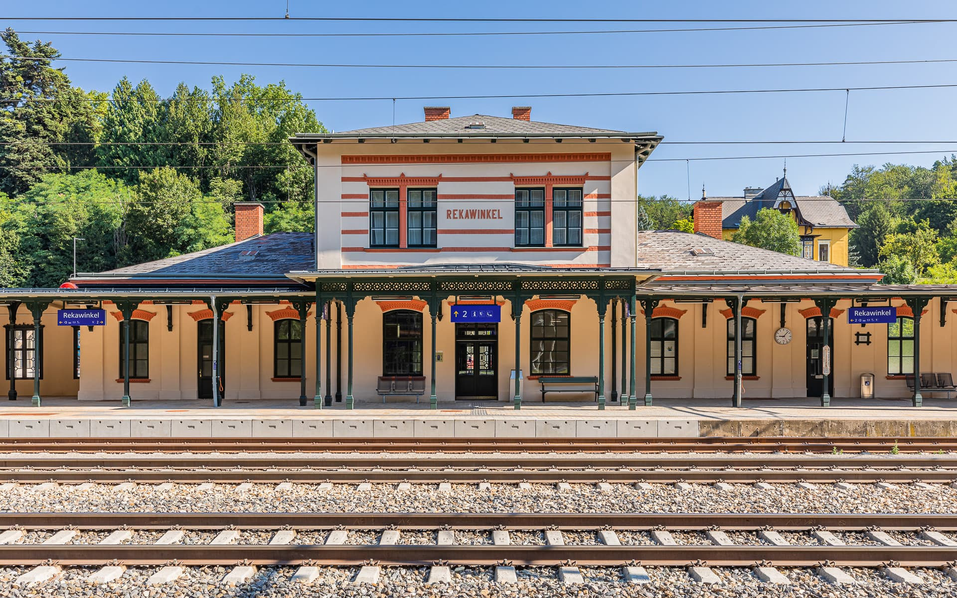 FEUCHTENHOFER Architekten ZT-GmbH | Bahnhof REKAWINKEL